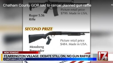 North Carolina GOP, Fraternal Order of Police Criticized for Gun Raffles