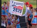 North Carolina High School Places Cheerleading Squad on Probation for Posing w/ Pro-Trump Flag