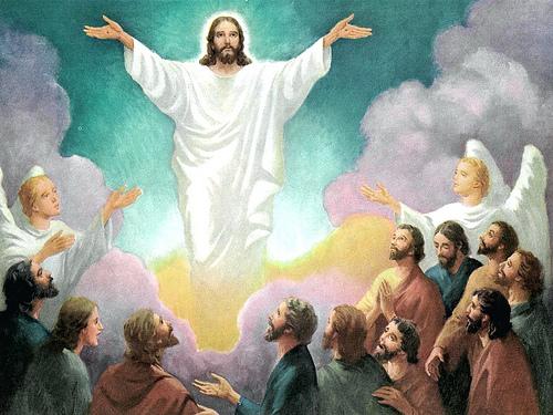 Jesus ascension photo