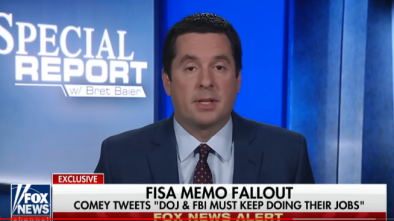 Nunes: 'Clear Evidence' of Russia Collusion... by Hillary Campaign and DNC