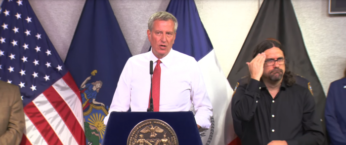 NYC Mayor de Blasio Forces Offices to Turn Down A/C Ahead of Massive Heatwave