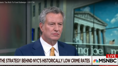 NYC Mayor De Blasio: We'll Restore Subways by Taxing the Rich