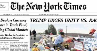 NYT Caves to Liberal Mob, Changes Headline About Trump
