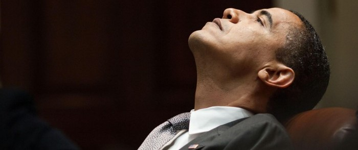 Obama Brushes Aside Poor Race-Riot Record to Bask Anew in Limelight
