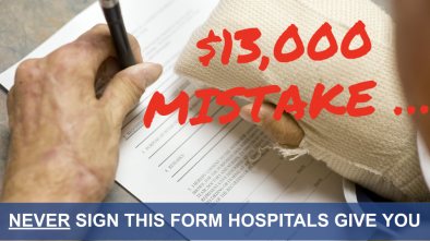 One Form You Should NEVER Sign in a Hospital