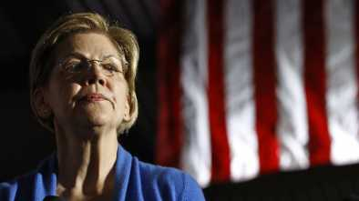 Outlook Bleak for Warren After 3rd-Place Finish in Home State of Mass.