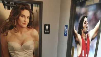 Outrage Over 2 Different Restroom Pictures of Bruce Jenner at Cafe