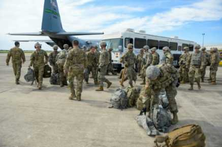 Over 7,000 Troops in Border States by End of Weekend