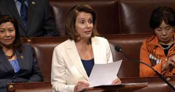 Pelosi Filibusters for DACA Deal