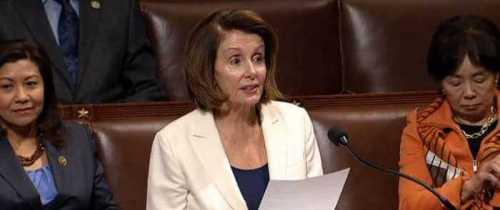 Pelosi Filibusters for DACA Deal