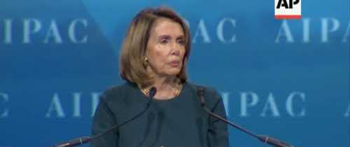 Pelosi Gets Jeered by Pro-Israeli Audience over 'Two-State Solution'