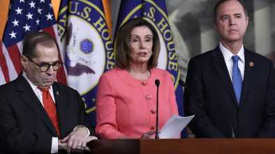 Pelosi Names Schiff, Nadler as Prosecutors for Trump Trial