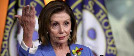 Pelosi Says She's Not Trying to 'Run Out Clock' on Impeachment