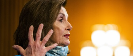 Pelosi Wants to 'Go Big' on More Virus Aid; McConnell Hasn't 'Felt the Urgency'