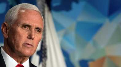 Pence Blasts NBA, Nike for Cowering in Fear to China