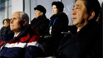 Pence Ignored Kim Jong Un's Sister Because She's 'Evil'