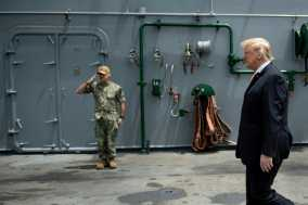 Pentagon Chief Denies Plan to 'Hide' USS John McCain from Trump