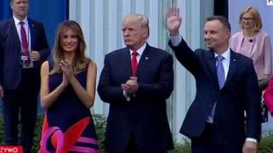 Polish Prez Debunks Fake CNN Report That His Wife Snubbed Trump's Handshake