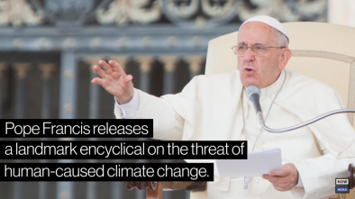 Pope to Host Climate Change Mtg with Oil Producers