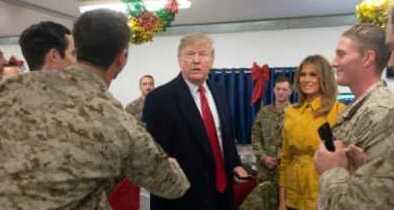 President Trump, First Lady, Visit Iraq