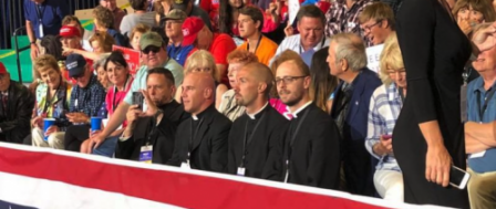 Priests Criticized for Political Involvement...When They're Conservative