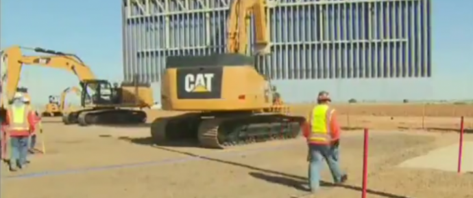 Private Construction Company Shows Lawmakers It Can Build Border Wall For a Fraction of the Time, Cost 1