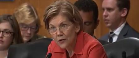 Radical Sen. Warren Tells Wells Fargo CEO 'You Should Be Fired'