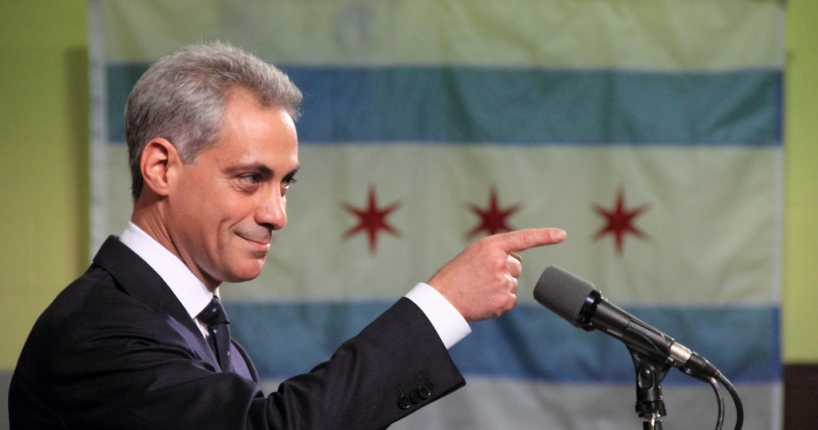 Rahm Emanuel Says Trump's Base Really Didn't Want to Repeal Obamacare