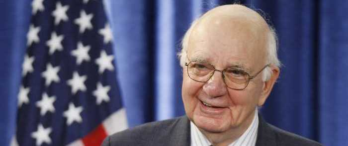 Reagan-Era Fed Chair Paul Volker Dies