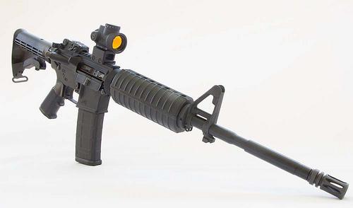 Remington AR 15 photo