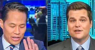 Rep. Matt Gaetz Schools MSNBC Host for Claiming Dems Haven't Called Border Wall 'Racist'