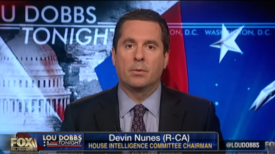 Rep Nunes: Hillary's Campaign Colluded with 'Nearly Every' Top Official at the DOJ & FBI 1