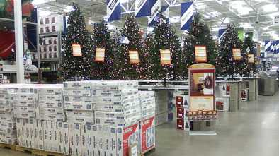 Retailers moving from 'holiday' themes, toward 'Christmas'