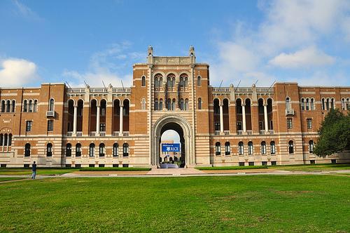 Rice University campus photo