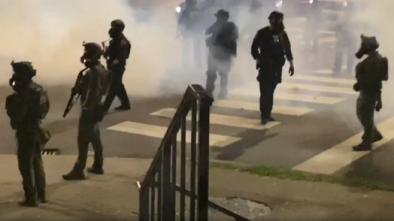 Riotous Thugs Terrorize Restaurant Patrons by Shooting Asphalt from Potato Gun 2