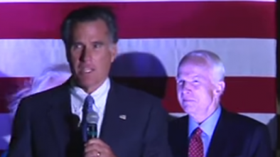 Romney and Weld Slam Trump for Criticizing McCain