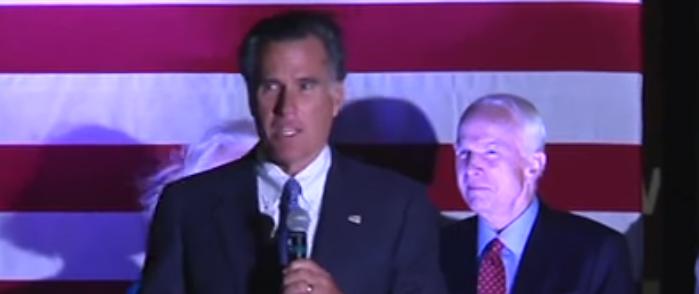 Romney and Weld Slam Trump for Criticizing McCain