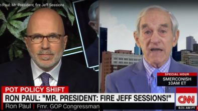 Ron Paul: 'Jeff Sessions Should Be Fired' Over Marijuana Crackdown