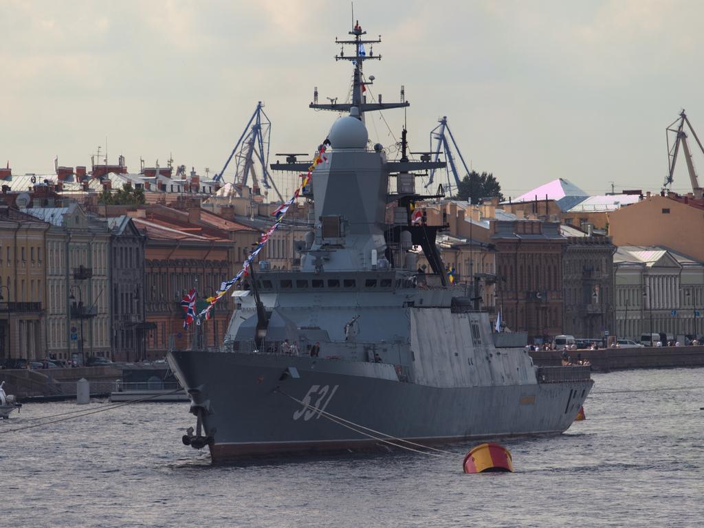 Russian ship photo