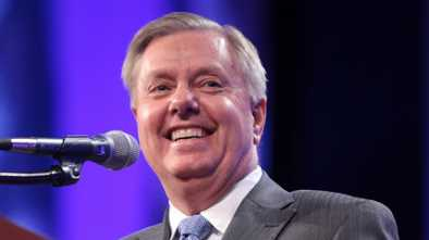 Ruth Ginsburg Apparently Confused Lindsey Graham with a Woman