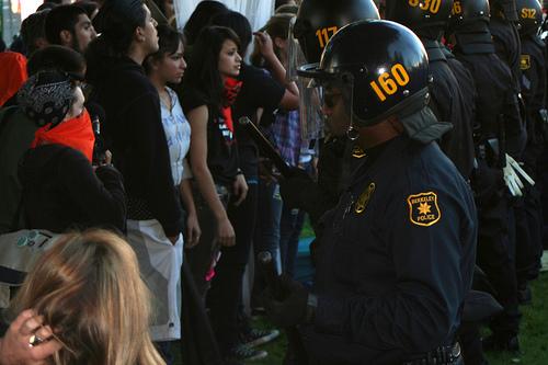 Berkeley riot photo