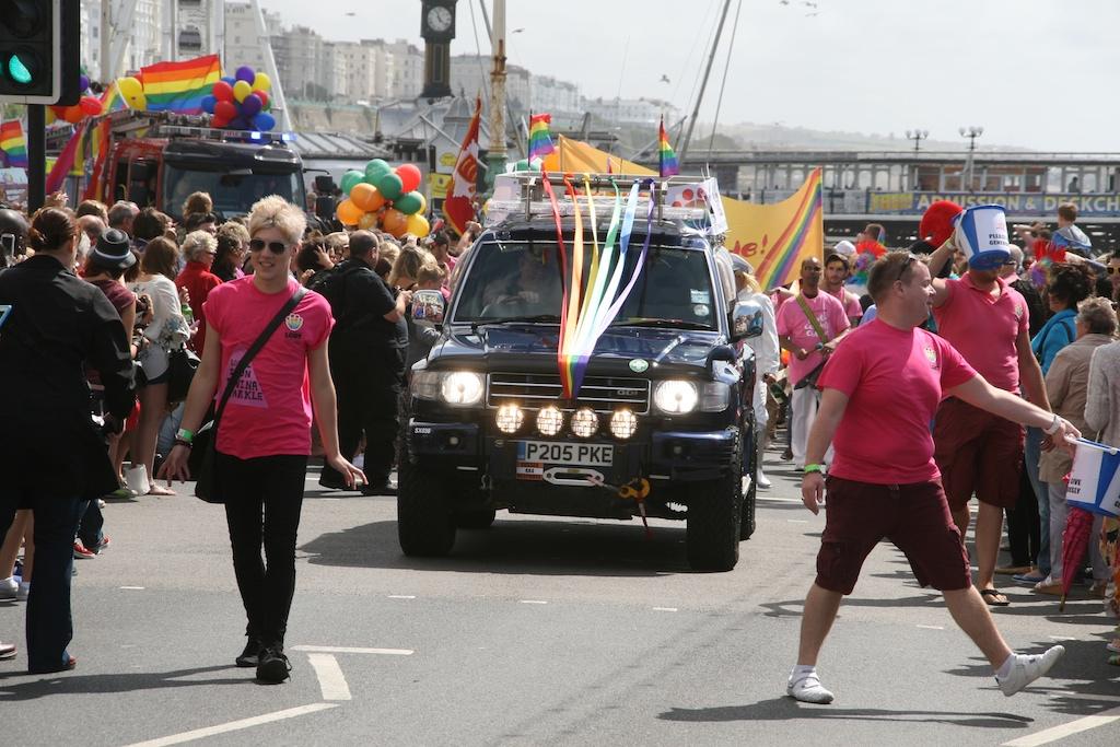 gay pride parade photo