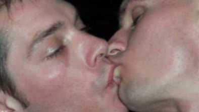 SCIENCE: Guys Kissing Guys Like Watching Flesh Rot, Maggots for Straight Men