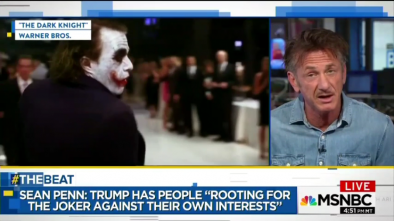 Sean Penn: Trump Is Like The Joker