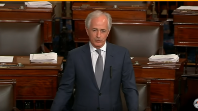 Sen Corker Mocks Republicans for Being Afraid of Trump