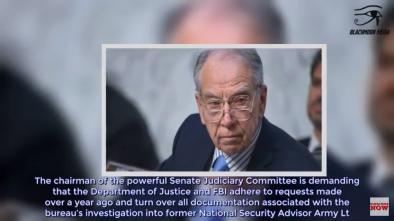 Sen. Grassley Demands Mtg with FBI Agent over Gen. Flynn Records
