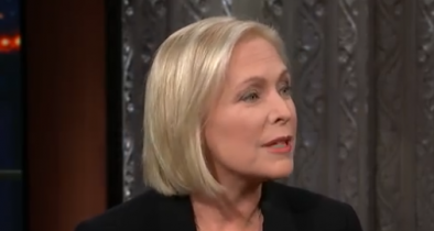 Sen. Kirsten Gillibrand Mainstreams Gun Control on Colbert