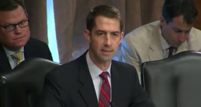 Sen. Tom Cotton Sets RINO Flake and Liberal Schumer Straight on 'Russia Collusion' Narrative