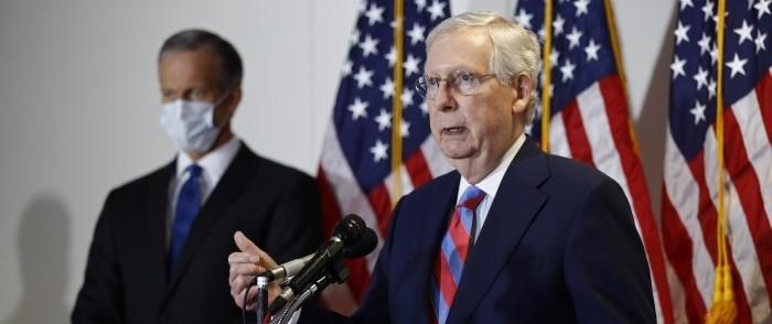 Senate Flinches on FISA Standoff, Renews Creepy Surveillance Powers