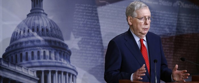 Senate Sends New $483 Billion Stimulus Bill to House
